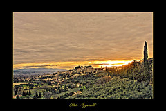 Spello (Cleto Azzarelli) Tags: sunset italy panorama beautiful landscape photography photo europa europe italia tramonto recent umbria spello phoyography cleto abigfave aplusphoto photoscreativo