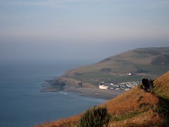 Clarach, West Wales 03/03/2011 (DG Jones) Tags: wales landscape westwales y cliffs ceredigion mor constitutionhill consti clarach glan