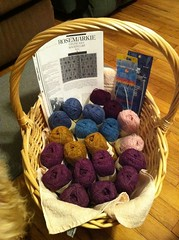 Basket ready for Rosemarkie KAL by BlueDragon2