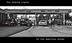 American bank drive-through (Vorona Photography) Tags: poverty street red urban food usa money fall cars ford kitchen wall america paul outdoors soup lights drive washington view unitedstates state fiat crash stamps markets free bank ron flashback hunger pay revolution depression anarchy americana nightmare tacoma through hop lakewood capitalism economic job obama currency crisis greatdepression banks fraud socialism drivethrough catastrophe jobless checks federalreserve ronpaul occupy fiatcurrency banksters greatrecession