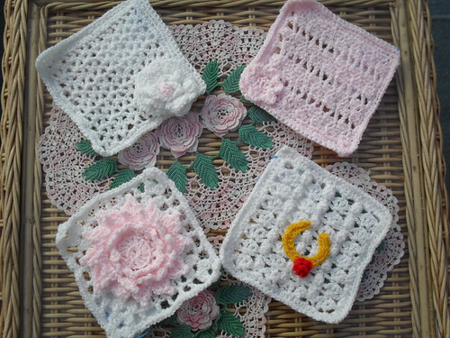 crochet3love (UK) Your Squares arrived today! Thank You!