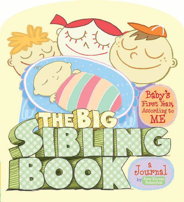 The Big Sibling Book: Baby's First Year According to Me, The Big Sib
