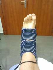 Mi esguince social (jorgetorrecilla) Tags: esguince fisioterapia mislata tobillo ligamentos fisiofenix