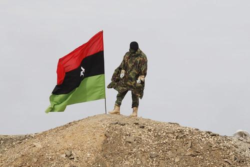Un rebelde en Libia