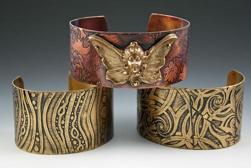 etched cuffs