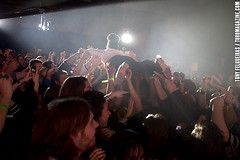 Janelle Monae Crowd Surfing @ Indie Awards 2011 (TonyFelgueiras) Tags: music toronto ontario canada photography march concert tightrope cmw davidletterman indies 2011 supershot indieawards musicweek manymoons janellemonae canon7d toromagazine archandroid tonyfelgueiras cdnmusicweek canadianmusicweek2011