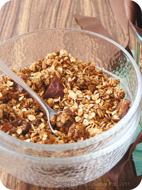 Coffee & Peanut Butter Granola c-w