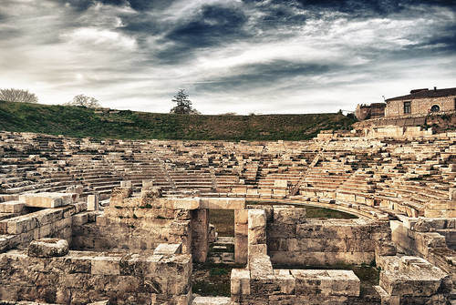 Ancient Theater Of Larissa by fok13