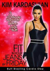Kim Kardashian But Blasting Cardio Step