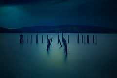 Salen Pier (BoboftheGlen) Tags: water island bay scotland pier long exposure argyll sound mull isle salen coastuk