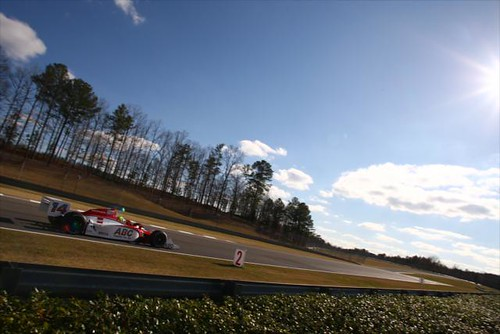 Vitor Meira at the beautiful Barber Motorsports Park
