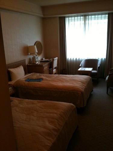 「ホテルガーデンパレス東京」11階ツインの部屋