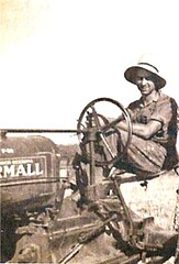 JRM on tractor