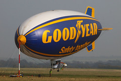 """Day 76 - Goodyear Airship (76/365) (lordminty) Tags: uk england oneaday station digital project bedford four day zoom hangar shed bedfordshire olympus corporation cotton american seventy photoaday end blimp airship 365 six zuiko goodyear lightship a60 sheds e600 thirds 76 pictureaday seventysix shortstown r100 2011 zd 40150mm cardington project365 40150 zuikodigital """"day r101 project36576 76"""" olympuse600 """"43"""" """"43rds"""" project365031711 project36517mar11 ghlel"""