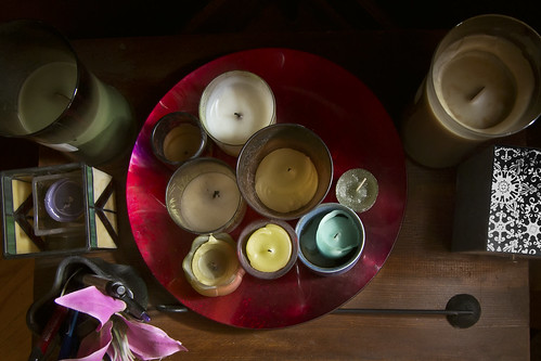 Naturally Lit Candles