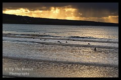 Lahinch Beach Walk, School Of Surfing, County Clare, Ireland. Rural Irish Countryside Landscape Photography. Noel Moore Up The Banner Photography (upthebanner) Tags: world ocean county trip travel family blue school ireland sunset sea summer vacation sky people irish cloud sun sunlight lake holiday seascape tourism beach nature water beautiful sport rock stone night clouds landscape outside outdoors photography golden evening bay coast sand nikon europe surf clare european waves photographer view dusk background famous shoreline scenic wave sunny noel surfing cliffs atlantic guinness business event moore coastal shore record coastline celtic loch teach attraction lahinch irlanda lessons