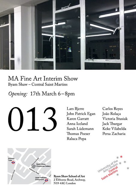 13, BYAM SHAW MA FINE ART, INTERIM SHOW, 2011