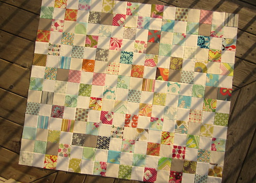 Scattered Scrap Quilt