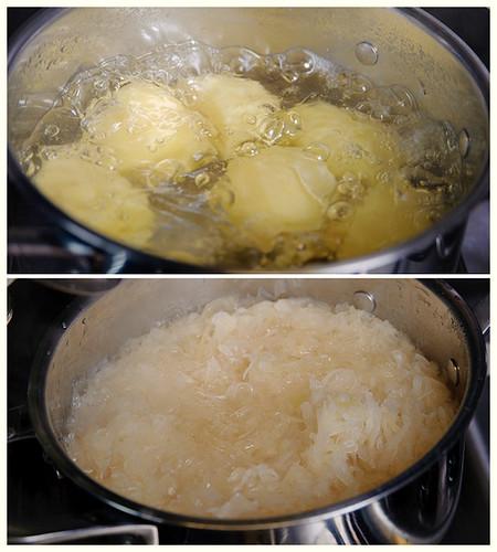 Sweet Sauerkraut Casserole