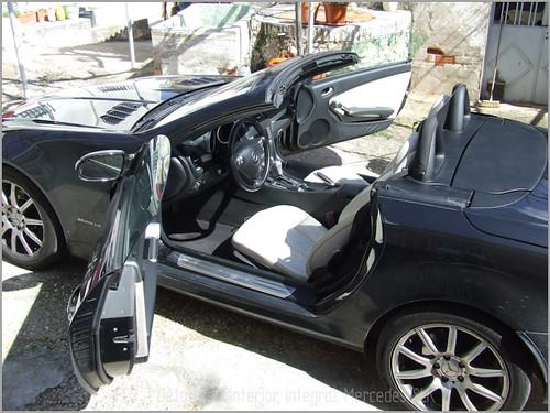 Mercedes SLK detallado interior-16