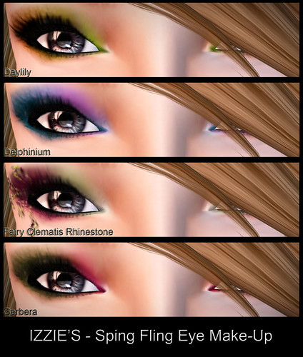 TOSL - IZZIE'S Spring Fling Eye Make-up