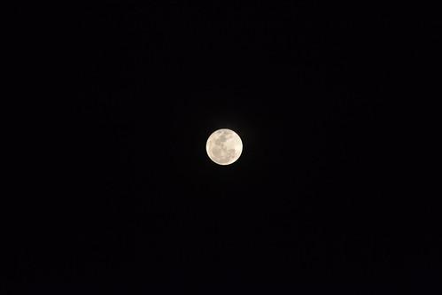 Super Luna -  Perigeo Marzo 2011 Zocalo de la Ciudad de México