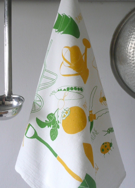 Tools of the Trade:Garden Tea Towel