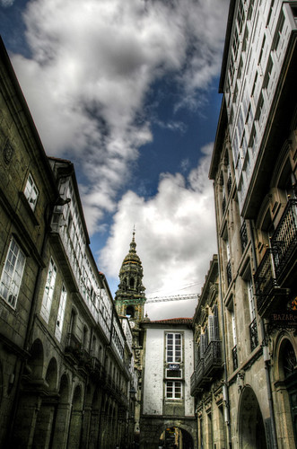 Piece of sky. Santiago de Compostela. Trozo de cielo
