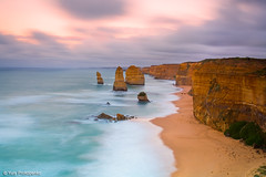 Sunrise at Twelve Apostles (-yury-) Tags: ocean sea nature sunrise landscape australia greatoceanroad twelve apostles