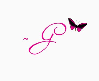 blogger signature
