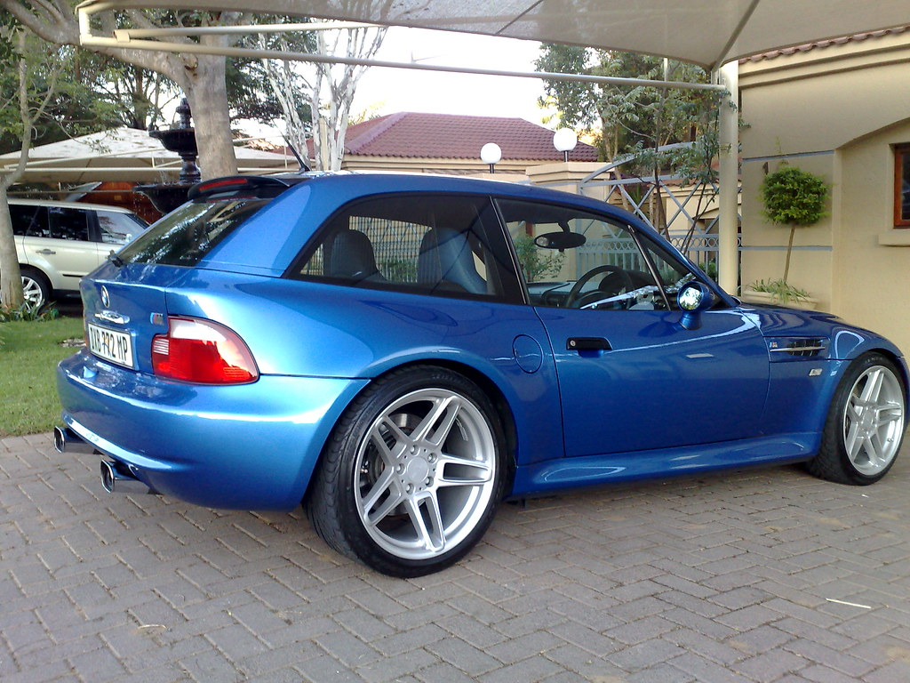 2001 M Coupe Estoril Blue Estoril Blue Black Coupe