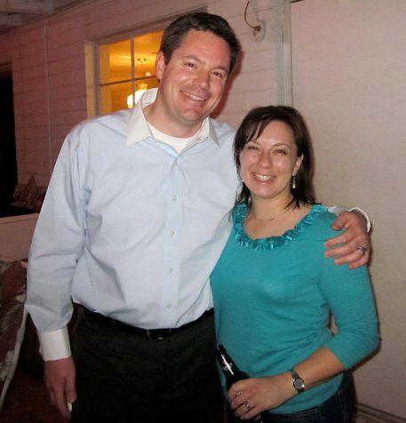 Chris & Erica on St. Patties Day