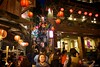 Jiufen Old Street 九份老街 (Taiwan Adventures) Tags: old travel people history tourism night stairs asian japanese evening asia market tea weekend traditional crowd steps chinese scenic culture taiwan lifestyle tourists historic adventure staircase nightmarket lanterns taipei guide lantern tradition 台灣 台北 tours teahouse guides oldstreet cultural 九份 teashop rueifang chineselantern jiufen jioufen teahouses 九份老街 northerntaiwan jeofen rueifangtownship japaneseteahouses taiwanadventures