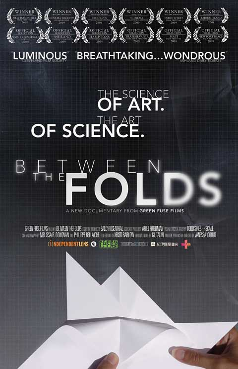 """Between the Folds"" movie poster"