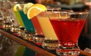 Red Sky martinis