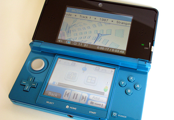 Nintendo 3DS features