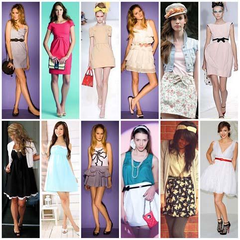 modelos de roupas ladylike