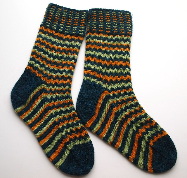March socks - Jagged