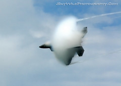The Great Minnesota Air Show 2010 (SkyWildPhotography) Tags: wild sky cloud st photography raptor shawn f22 zeke vapor orton 2010 skywildphotography