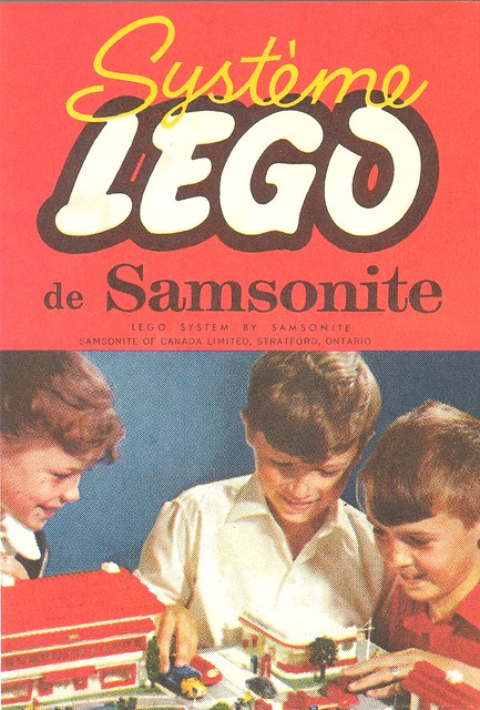 Lego Samsonite French Canada