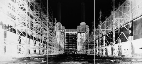Vera Lutter - Battersea Power Station. III July 5. 2004