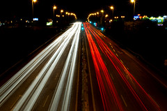 Luces (pikonasso) Tags: city lights luces ciudad coches dwcfflightpaint