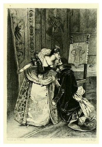 017-Ruy Blas-Illustration des oeuvres complètes de Victor Hugo (Volume 1) 1885 - Flameng, François