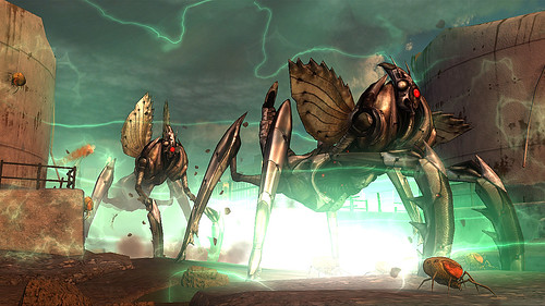 Earth Defense Force: Insect Armageddon for PS3: MANTIS