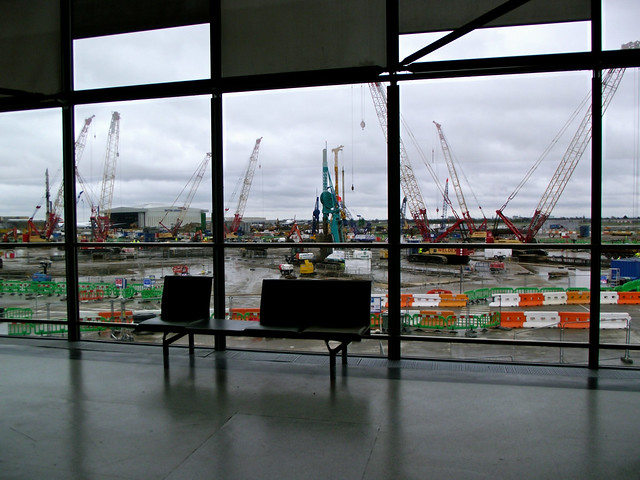 Construction At Heathrow Airport