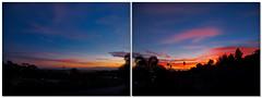 Ventura sunset 03.30.11 (MyArtistSoul) Tags: california sunset diptych ventura g11 2597 frommyporch 033011