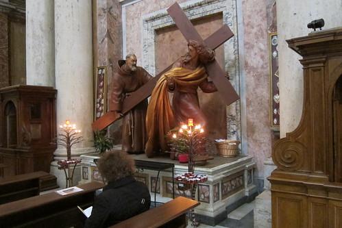 """Padre Pio Surprises Jesus"""