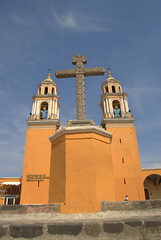 The Crucifix (VinayakH) Tags: church mexico religious christian mexican christianity cholula puebla churchofthevirginoftheremedies