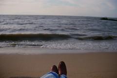 Chill (luluferrari) Tags: film 35mm kodak kodak400 analogic analog nikon nikonfm10 beach walkonthebeach chill relax florianpolis brasil brazil nature natureza wild sea mar tropicalwinter