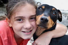 best buds (Laurarama) Tags: friends dog love smile nikon child buddies friendship gap buds 365 bestfriends odc americanheritage 2011 gettycollection d3100 heritage2011 collectionp